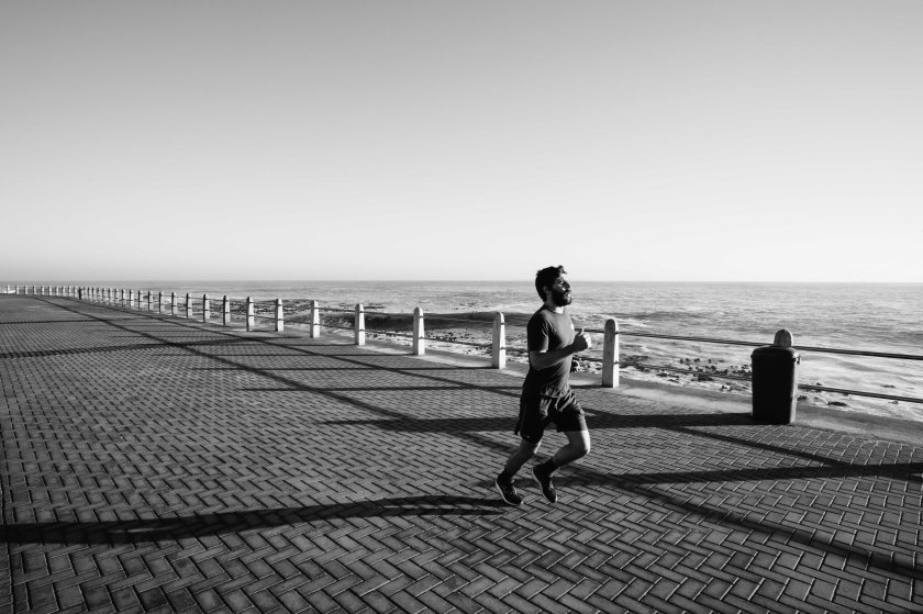 Runner at Sea Point